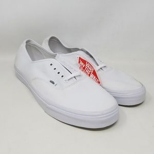 white vans size 14